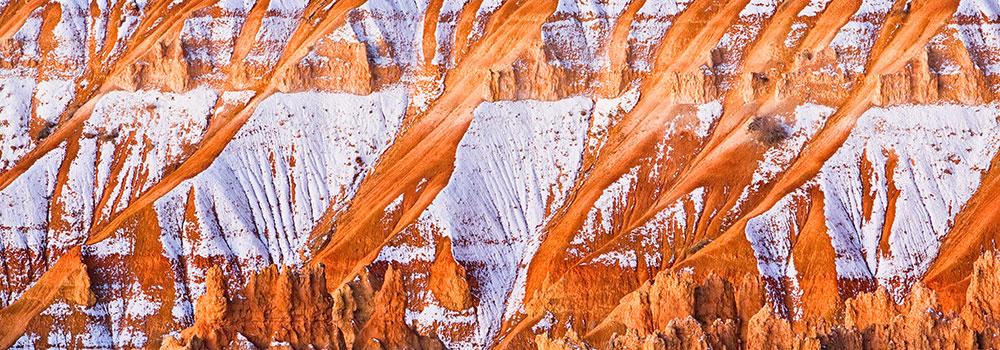 Bryce Snow Lines, Bryce Canyon Utah